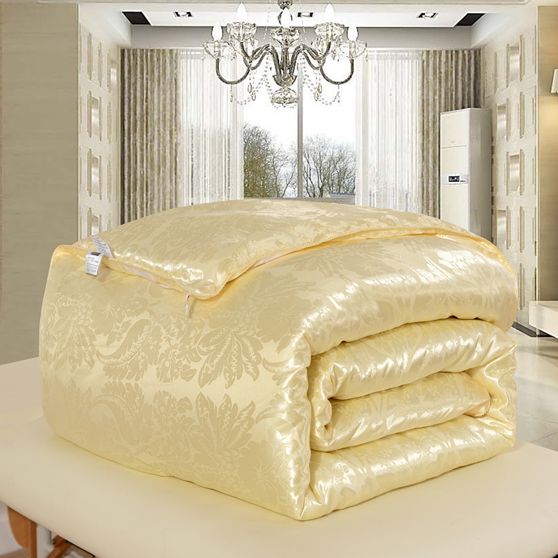 229e773718 High Quality 100% Natural Mulberry Silk Comforter for Winter Summer King  Queen Full Twin size Duvet Blanket Quilt edredom Filler