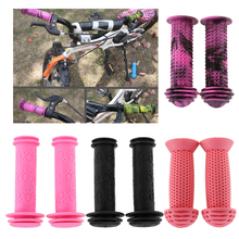 1 Pair Kids Childs Bicycle Handlebar Grip Non Slip Rubber Handle Bar Protector Covers цена