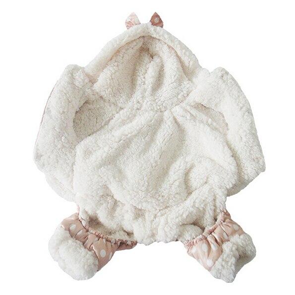 Купить с кэшбэком 2015 new pet clothes winter warm soft short floss dog clothes puppy clothes keep warm in winter cat dog clothes new S M L XL