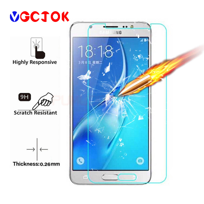 2-Pack Easy to Install with Lifetime Replacement Warranty Japan Tempered Glass KATIN Galaxy J3 2016 Screen Protector - for Samsung Galaxy J3 2016// J3 V 2016 Bubble Free