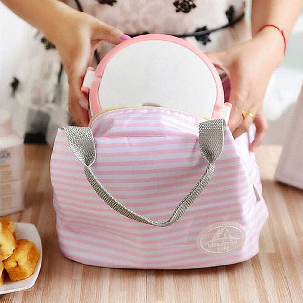 Women Kids Men Cooler Lunch Box Bag Insulated Canvas Lunch Bag for women Thermal Food Picnic Lunch Bags *35 lunch bag neoprene large gourmet lunch tote insulated waterproof lunch bags with zipper cooler handbag for women kids baby girls