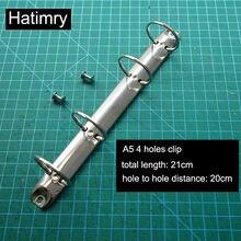 Записная книжка hatimry a5 35 и 45 см кольцевой зажим с 4 отверстиями