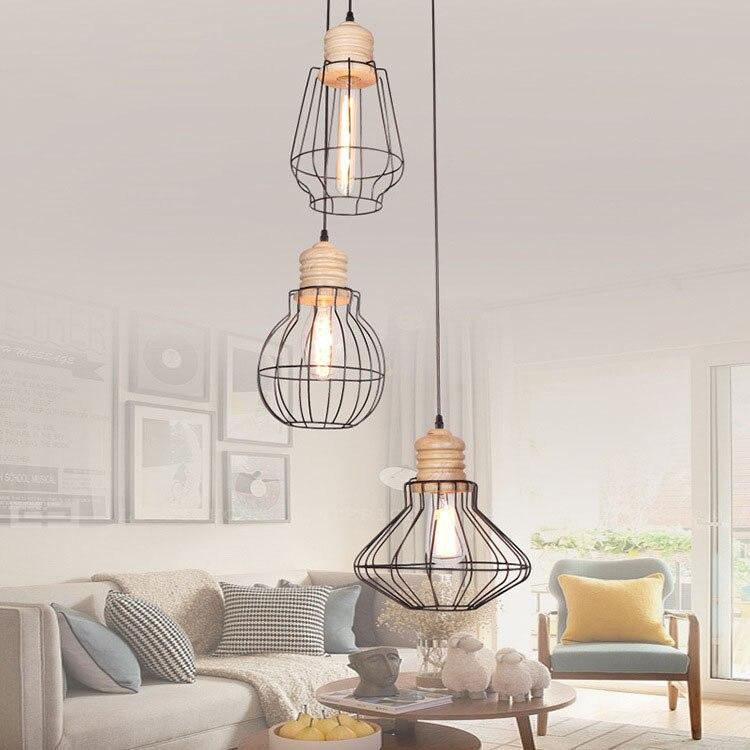 Modern Simple metal pendant lamp lamparas de techo colgante moderna luminaire suspendu lustre pendente designer chandeliers тонер cactus cs ce285as black