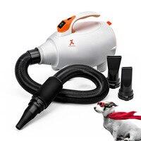 Hot air heater Dog Hair Blower Tool Pet Large Power Dog Water Blower Long Hair Bath Hair Blower Supplies Hot air heater