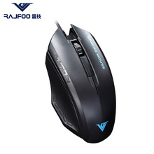 Newest RAJFOO I3 Wired USB Mouse Pad Computer for Mac Business Entertainment font b Gaming b