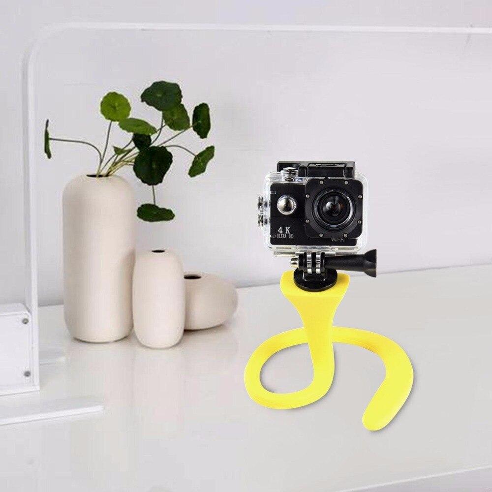 Mikrofonstativ Offen Original Banana Pod-flexible Stativ Selfie Stick Für Iphone Sj4000 Gopro