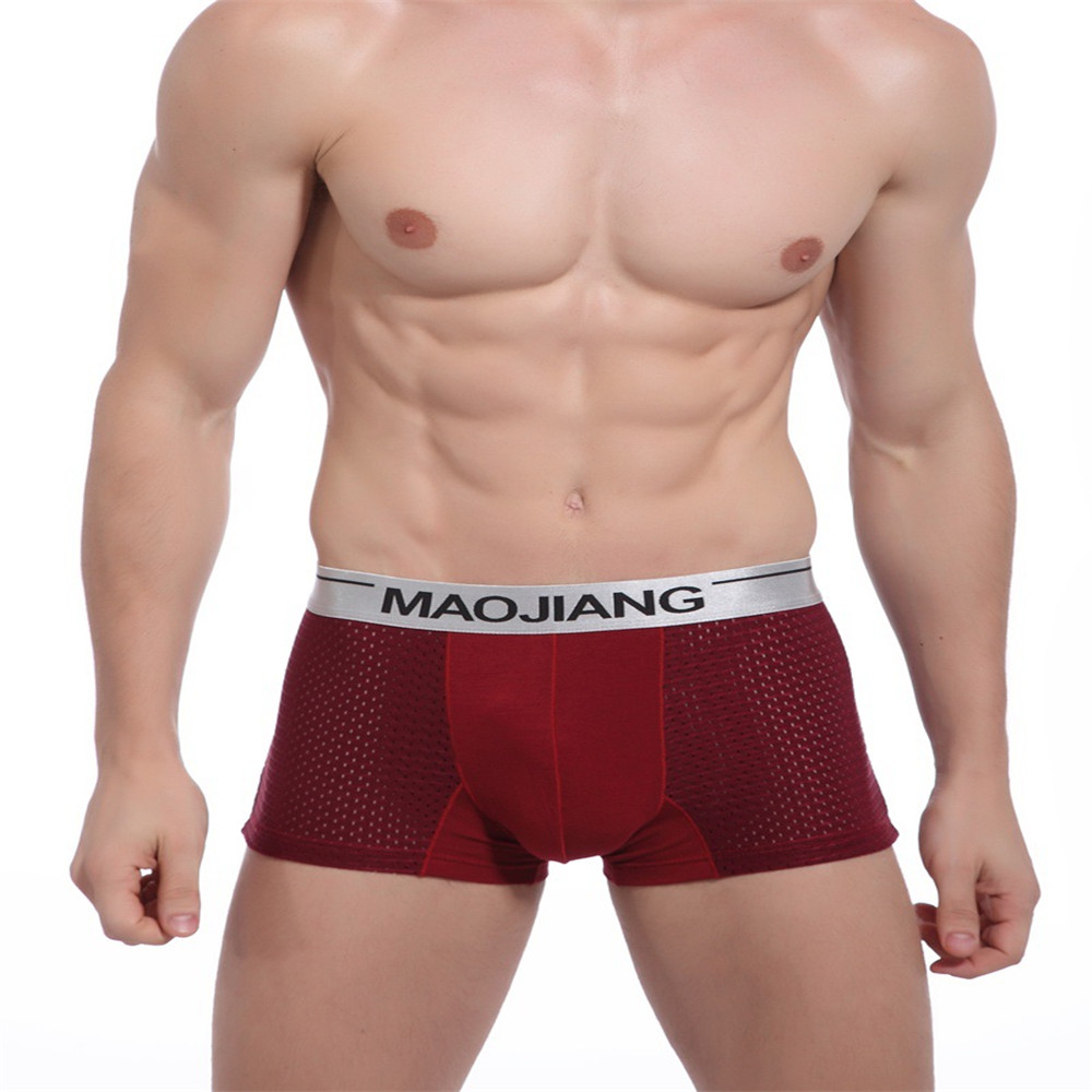 Men's small silver side of the eye angle underwear breathable antibacterial men's underwear