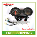 125cc speedometer JS125-6A/F2/6F/7A/6B/6A odometer JIANSHE motorcylcle accessories free shipping
