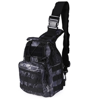 Hot 600D Outdoor Camping Hiking Bag Sports Bag Shoulder Military Tactical Backpack 4 Colors Utility Camping
