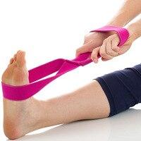 NOWY Regulowany Jogi Pas Extra Long Metalowym Zamkiem 8 Kształt Sport Pasek Pas Siłownia Talii Noga Fitness Joga Pilates joga Stretch Kompania