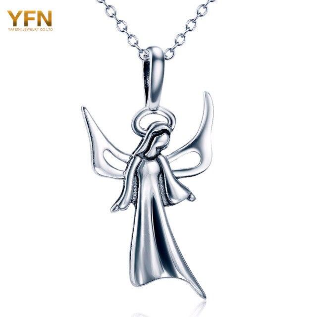 YFN Святой Святой Марии Ювелирные Изделия Стерлингового Серебра 925 Ожерелье Ювелирные Изделия Ожерелья и Подвески Для Женщин и Мужчин GNX10891