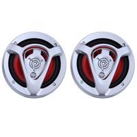 2pcs Set 6 Inch 220W Universal 3 Way Car Loud Speaker Replacement Auto Refitting Coaxial Loudspeakers
