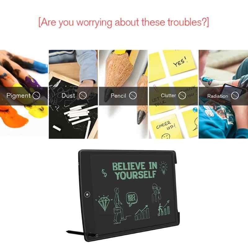 """Горячая 12 """"портативный ультра тонкий Написание планшеты подарки для детей офисные ЖК дисплей письмо от руки Колодки чертёжные игрушк"""