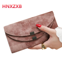 Hot Fashion Female Wallets High Quality PU Leather Wallet Women Long Style Cowhide Purse Brand Capacity