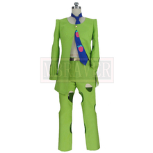 2020 JoJos Bizarre Adventure Pannacotta Fugo Outfit Uniform Cosplay Costume Custom Made Any Size