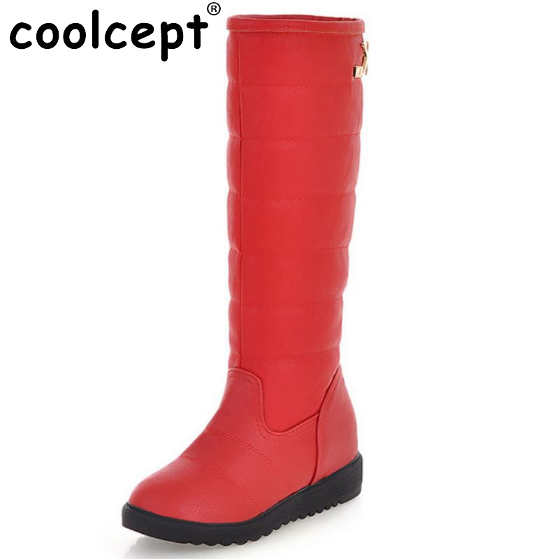 Women Flat Boots Winter Warm Platform Mid Calf Botas Cotton Snow Boot Fashion Lady Half Short botas Footwear Size 34-39 купить