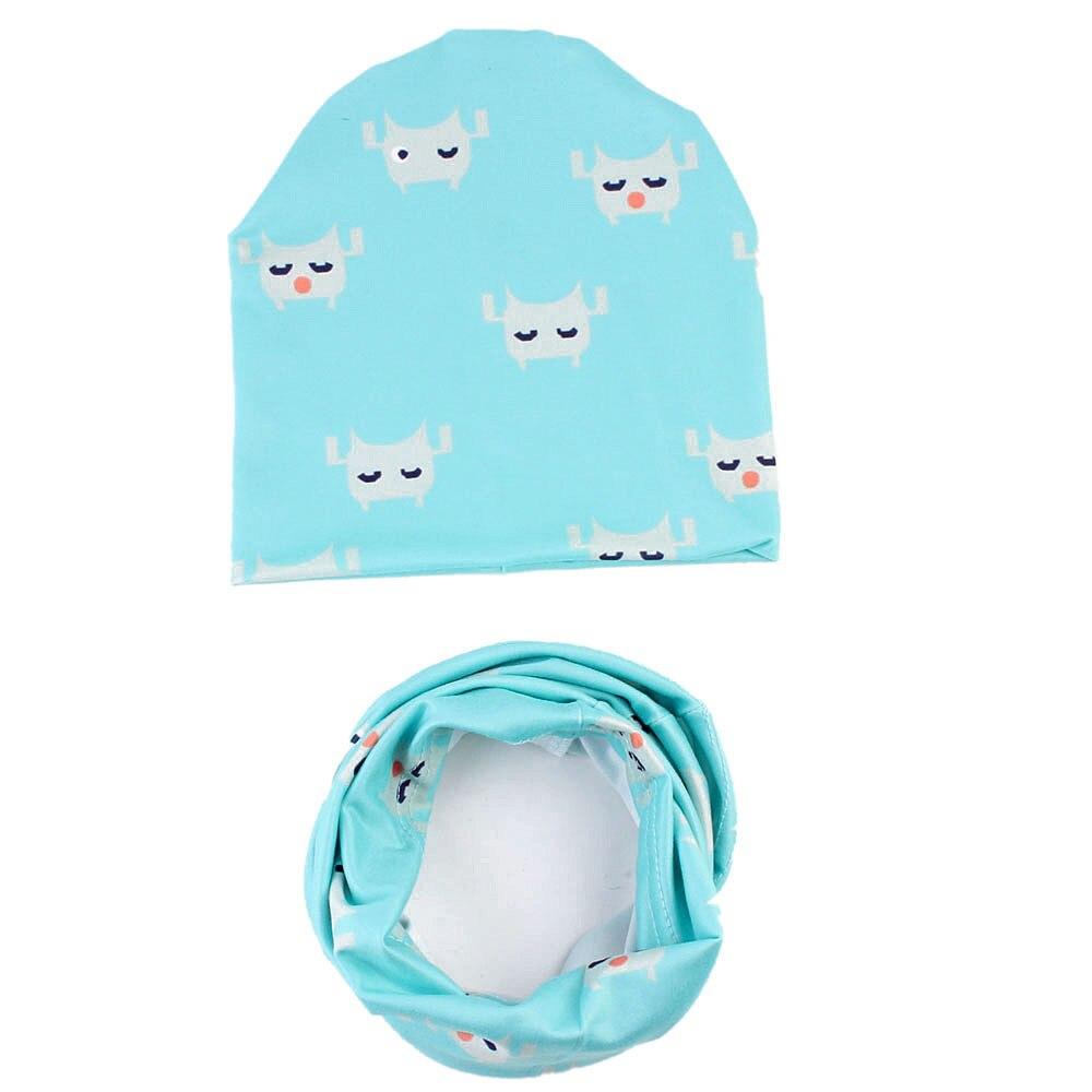 ffeb03e5a2f Baby Cute Winter Kids Baby Hats Keep Warm Set Cute Hat Scarf-in ...