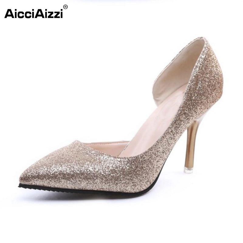 Women High Heel Shoes Pointed Toe Sexy Pumps Solid Color Thin Heels Shoes Women Party Fashion Pumps Lady Footwear Size 34-39 cicime women s heels thin heel spikes heels solid slip on wedding fashion leisure casual party dressing high heel platform pumps