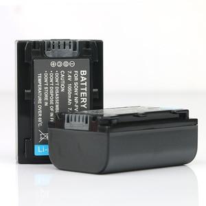LANFULANG 2-Pack NP-FV50 NP FV50 NPFV50 battery for Sony NP-FV30 NP-FV40 NP-FV50 NP-FV70 NP-FV70A NP-FV100 BC-TRV