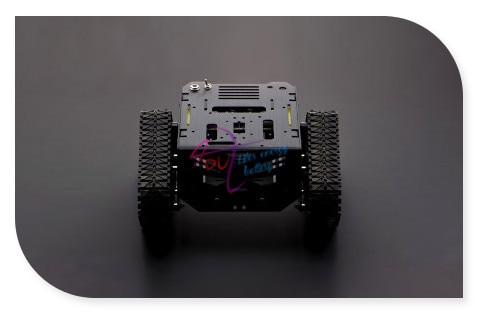 Новый DFRoBot 100% Подлинная Разрушитель Танк/Умный автомобиль/Робот Мобильная Платформа, 3 ~ 7.5 В 160 ОБ./МИН. 0.8 кг для Arduino/Raspberry Pi B/B +