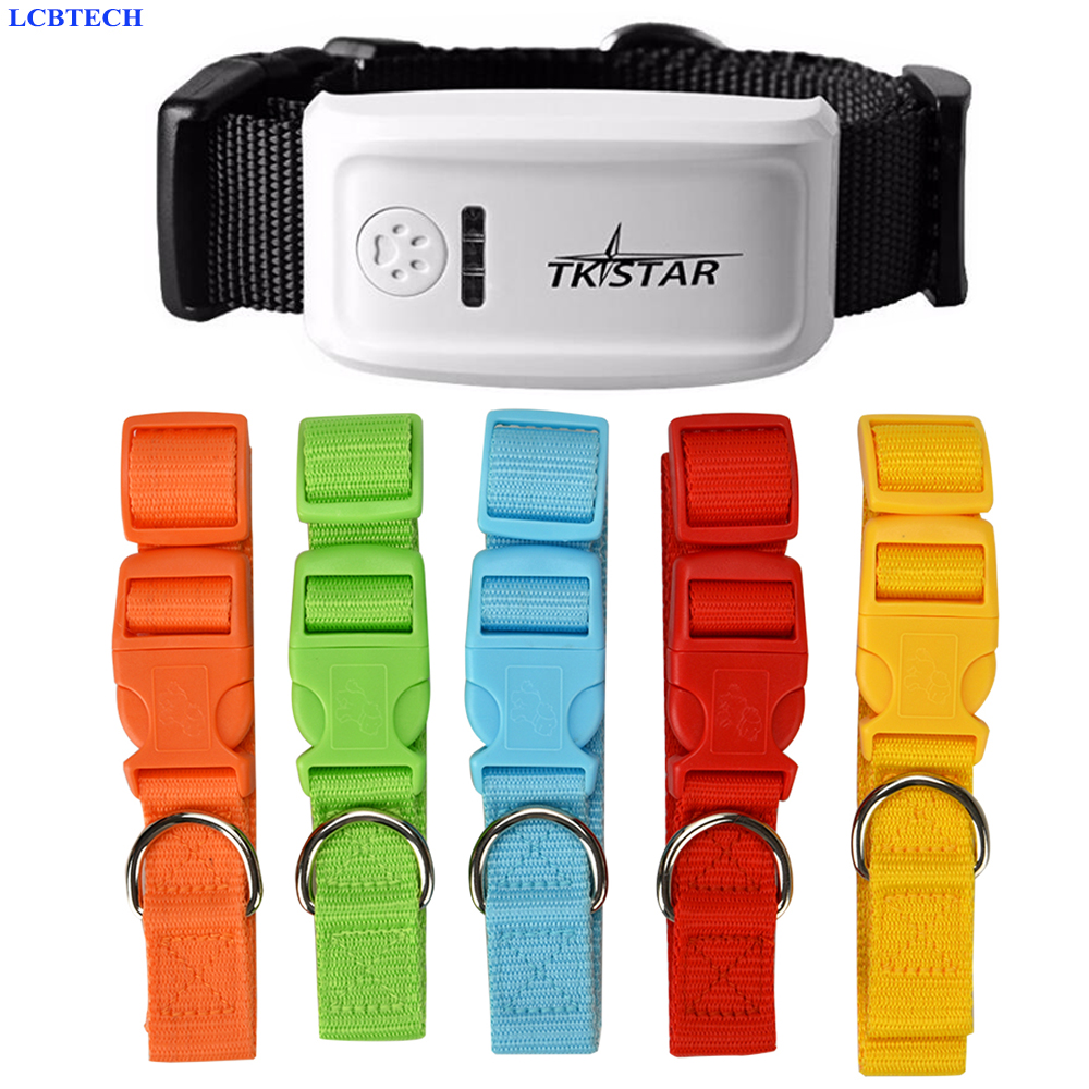 Popular Mini Pet Tracker With Collar GSM GPRS Positioning Real Time GPS Tracker Dog Pet TK909