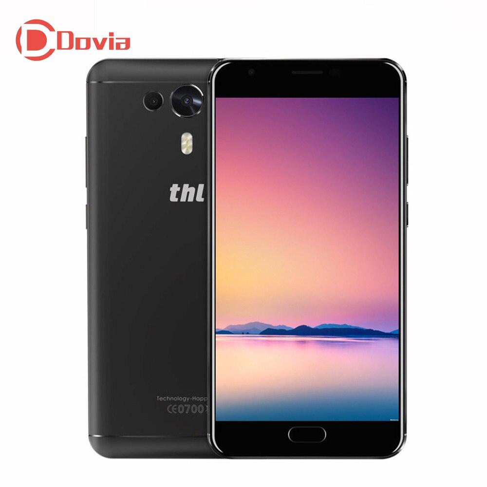 De THL Caballero 1 4G Smartphone 5,5 pulgadas FHD Android 7,0 MTK6750T Octa Core 3 GB RAM 32 GB ROM 13MP huella dactilar teléfono móvil