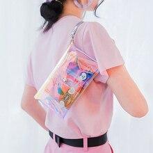 Женские лазерные кошельки с голограммой, модный клатч для путешествий, билетов, кредитных карт, держатель для хранения, органайзер для денег, чехол для телефона, сумочка