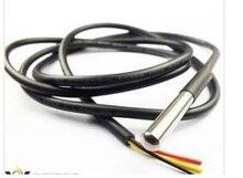 Датчики для Arduino DS18b20 Термометры модуль коммутатора Водонепроницаемый Сенсор де temperatura DS18b20 100 см 3.5-5 В нержавеющей