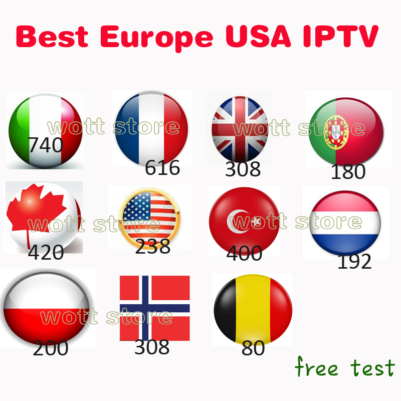 Europe iptv subscription italian french polish Belgium turkish canada portugal UK iptv code hot club xxx free test