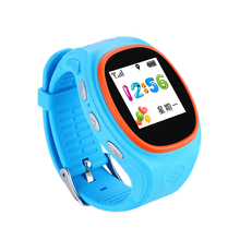ZGPAX S866A Kids Watch GPS Tracking SIM Card Smart Watch with SOS LBS Mini Children Security Bracelet Digital for iOS & Android