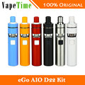 Original Joyetech eGo AIO D22 kit Electronic Cigarette 1500mAh Battery 2ml E-liquid Capacity BF SS316 0.6ohm MTL Atomizer Head