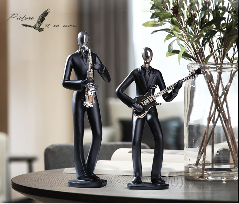 Music Figures Cabinet TV Ornaments Home Decorations Modern Minimalist Fashion Creative Gifts Popular Crafts Love GiftMusic Figures Cabinet TV Ornaments Home Decorations Modern Minimalist Fashion Creative Gifts Popular Crafts Love Gift