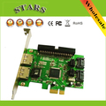 "New JMB363 2 Port PCI-E SATA II 2.0 RAID & 1 IDE 3.5"" to PCI Express Adapter Converter Card,Wholesale Free Shipping Dropshipping"