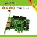 """Novo 2 Portas PCI-E JMB363 SATA II RAID 2.0 & 1 IDE 3.5 """"para PCI Express Card Adapter Converter, Frete Grátis Atacado Dropshipping"""