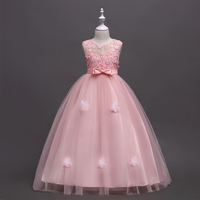 Little Big Sisters Wedding Long Ball Gowns Matching Party Clothing Mommy and Me Mother and Daughter Evening Dresses