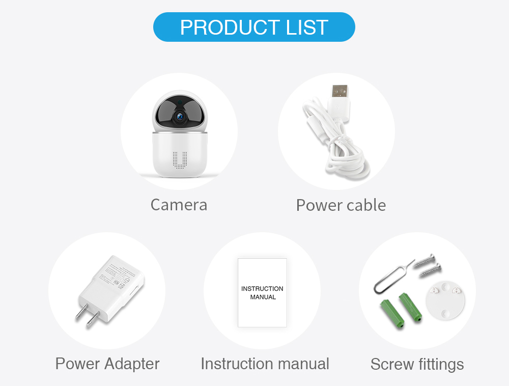 Smart Tracking Wifi Security Camera