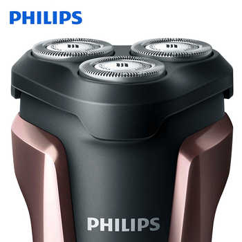 Philips S1060 Electric Shaver Rotary Rechargeable Washable Shaving Machine with Three Floating Heads for Men Razor Triple Blade