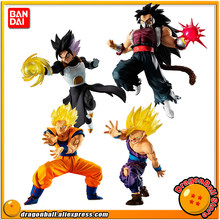 """Dragon Ball SUPER"" Original VS Batalha BANDAI Gashapon PVC Toy Figura 11-Conjunto de 4 Pcs Goku gohan Gotenks Cumber (mal saiyan)(China)"