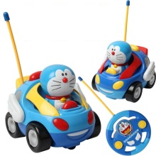 Baby boys girl Doraemon Remote Control Electric toys car kids