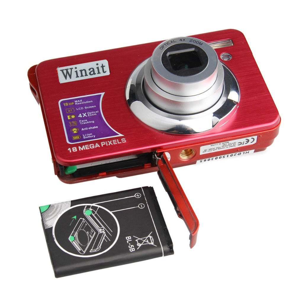 Cheap Stocked Optical Zoom Digital Camera Promotional Digital Video Camera