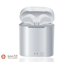 i7s Tws Bluetooth Earphones Mini Wireless Earbuds Sport Hands free Earphone Cordless Headset with Charging Box for xiaomi Phone все цены