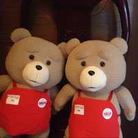 45cm stuffed teddy bear giant stuffed teddy bear plush toy for the children ted movie ted plush bear, life size teddy bear
