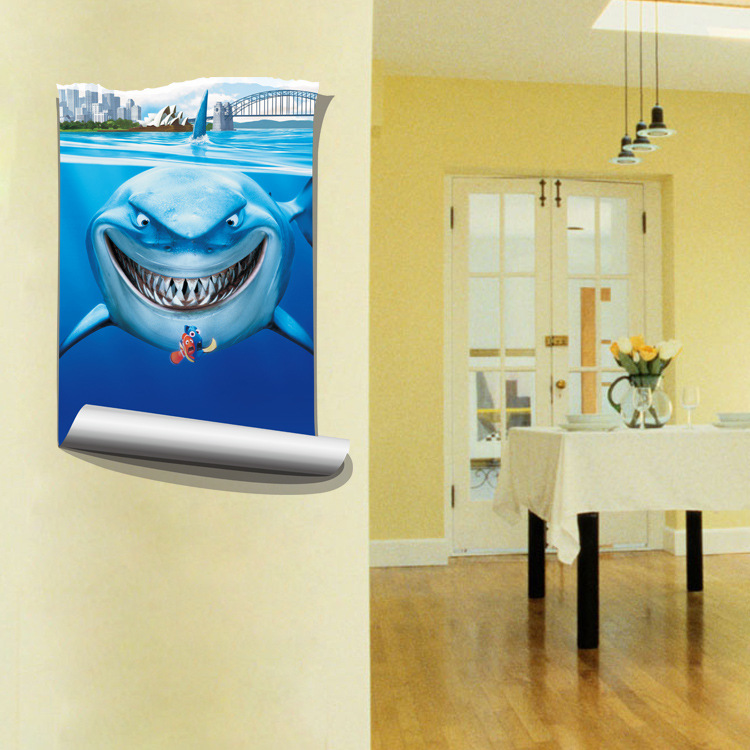 Contemporary Shark Teeth Wall Decor Images - Wall Art Collections ...