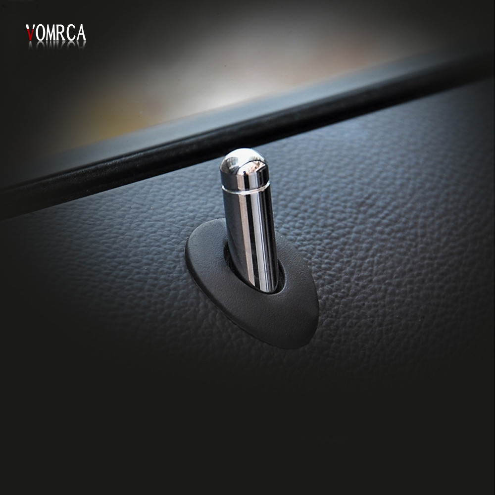 ⑥High Quality 4PCS Door Lock Stick Pin Cap cover trim For Chevrolet ...