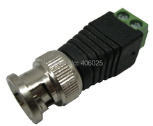 Analog Camera Video Connector,the BNC Connector for Video Cable and RJ59 Cable Connector