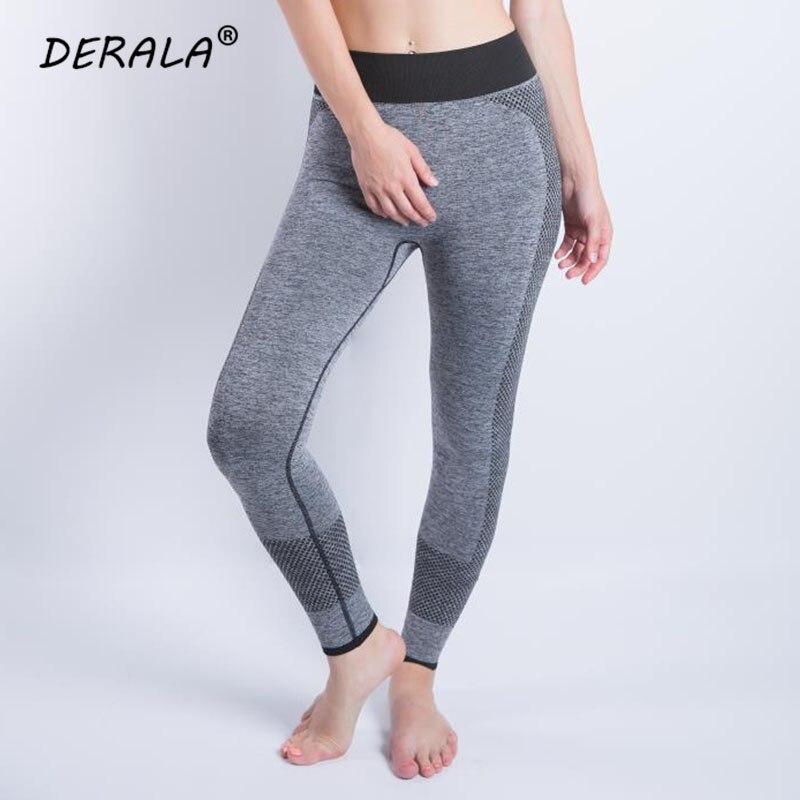 2018 nahtlose Hohe Elastische Taille Mesh Net Fitness Legging Frauen Freizeitsport Workout Fitness Hosen Mujer Leggins Active