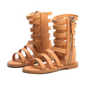 SKHEK 2019 Children Sandals For Girls Shoes Summer Beach Roman Girl Comfortable Kids Sandales Baby