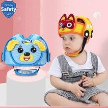 Детский защитный головной шлем для защиты от столкновений, мягкие хлопковые шлемы для малышей, предотвращающие удары для мальчиков и девочек