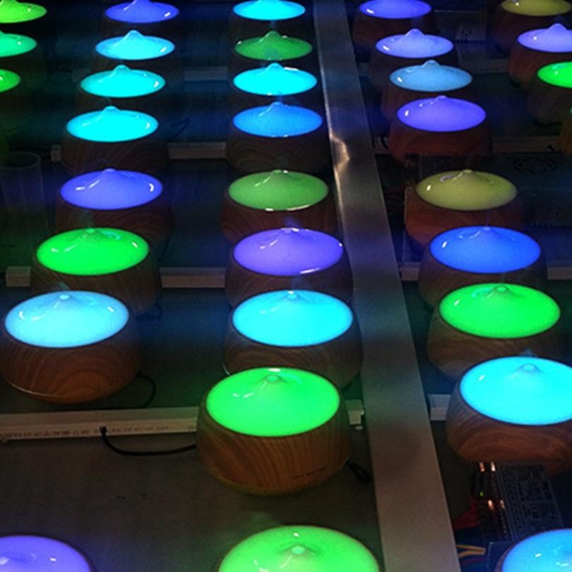 250 ML Aromatherapie Diffuser Hout Led luchtbevochtiger Kleurrijke - Huishoudapparaten - Foto 5
