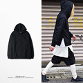Fashion Male Kanye Hoodie High quality Hip hop hoodies Men Streetwear Mens Hoodie 100% Cotton Hoody Black Kpop M-XXXL